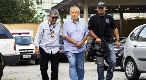 Lula preso Lava Jato texto falso