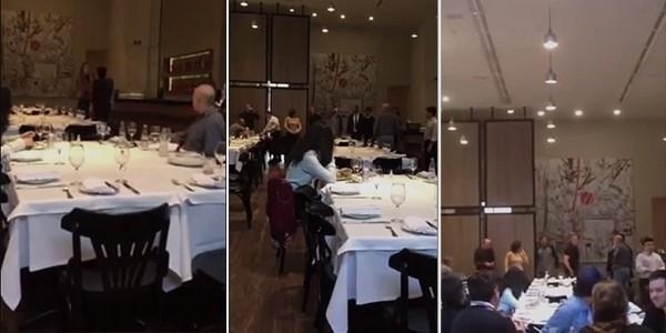 guido mantega restaurante agressão empresários