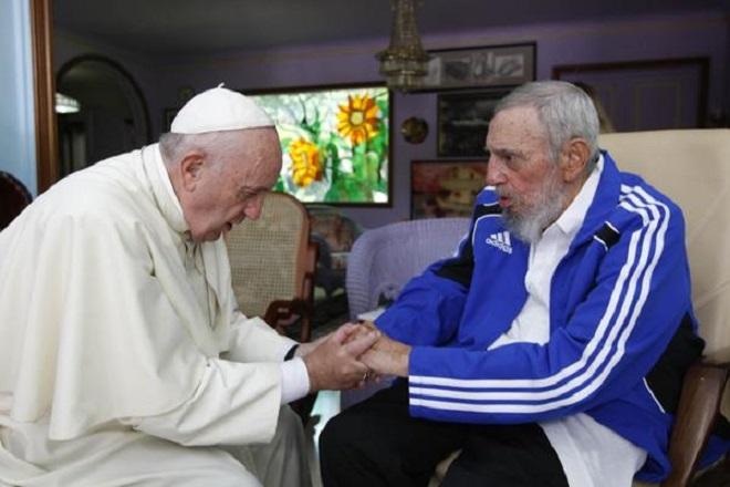 papa francisco Fidel cuba