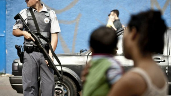 Polícia brasileira mais mata mundo