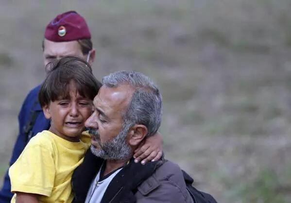 refugiado sírio jornalista húngara