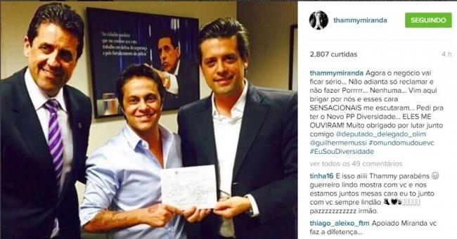 Thammy Miranda bolsonaro PP