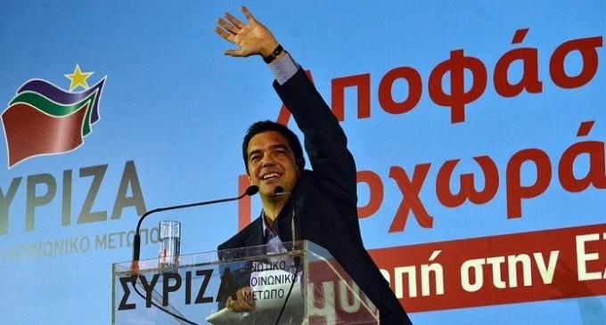 Syriza Grécia Alexis Tsipras