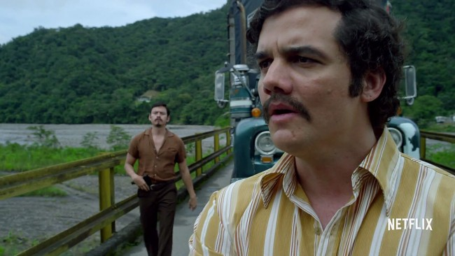 Narcos Wagner Moura Netflix sotaque