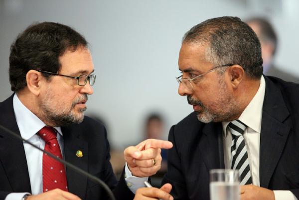 CPMF Walter Pinheiro Paulo Paim PT