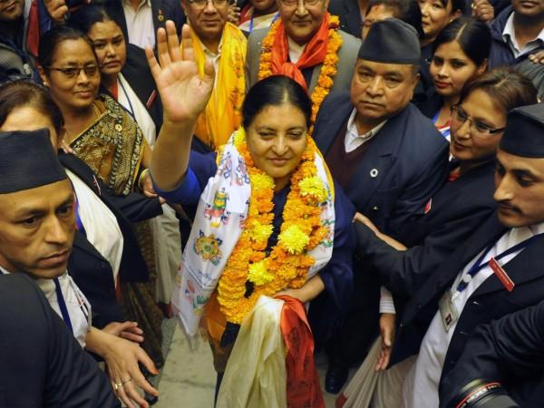 Bidhya Devi Bhandari comunista feminista