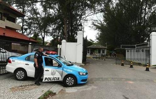 Eduardo Cunha carro polícia PM