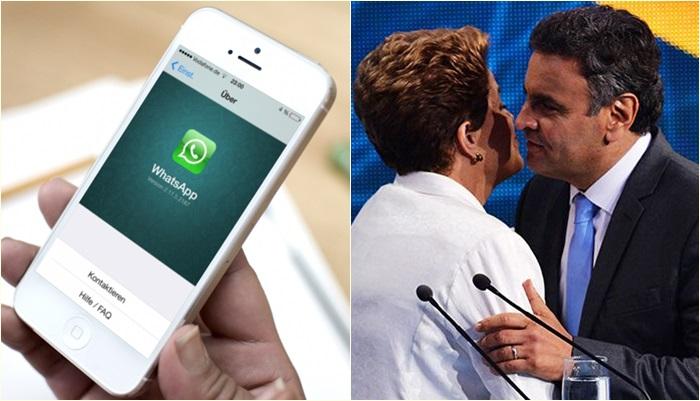 Andrade Gutierrez Dilma Whatsapp Aécio