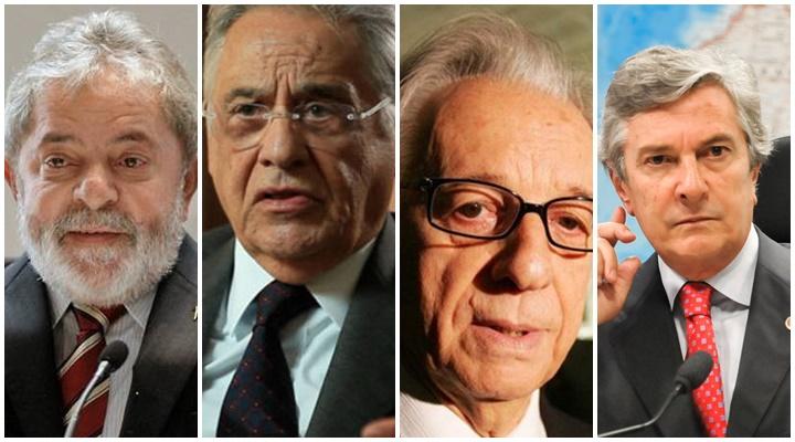ex-presidentes lula fhc collor itamar