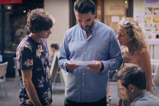 homofobia espanha campanha experimento