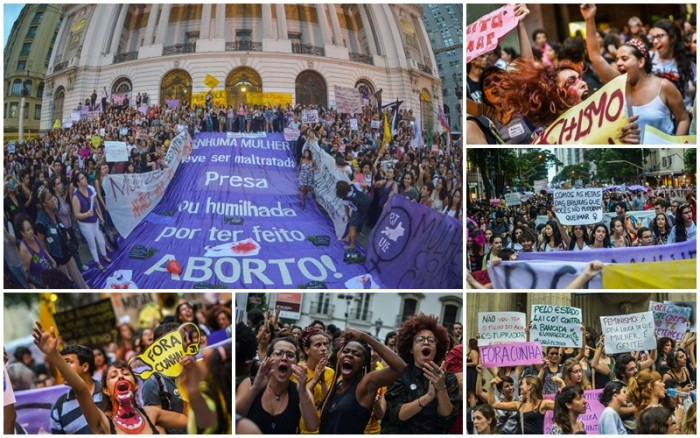 mulheres Eduardo Cunha