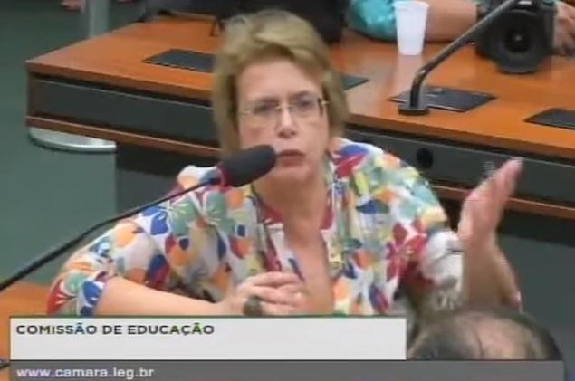 deputada Margarida Salomão bancada evangélica