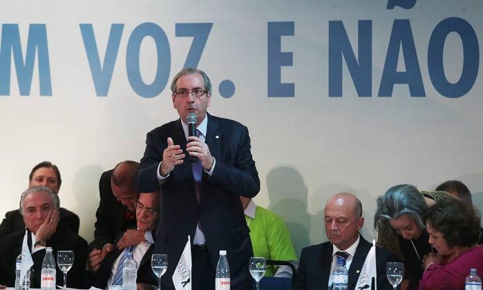 Eduardo Cunha Congresso PMDB