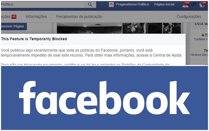 Facebook Pragmatismo Político censura