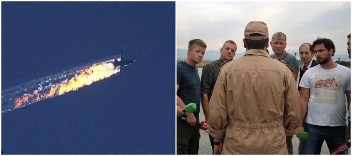 Piloto russo Su-4 sobrevive