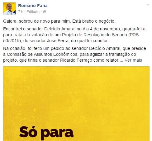 Romário Delcídio Amaral Suíça