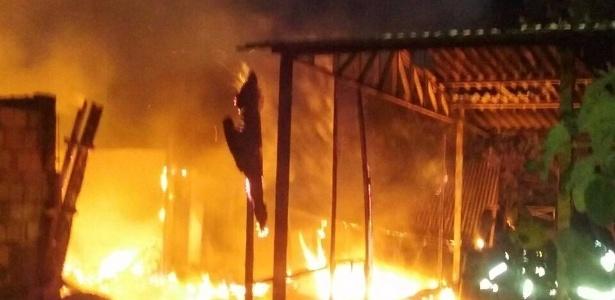 terreiro Candomblé incendiado Distrito Federal