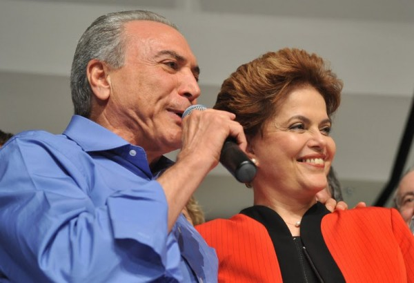 Michel Temer carta Dilma Rousseff