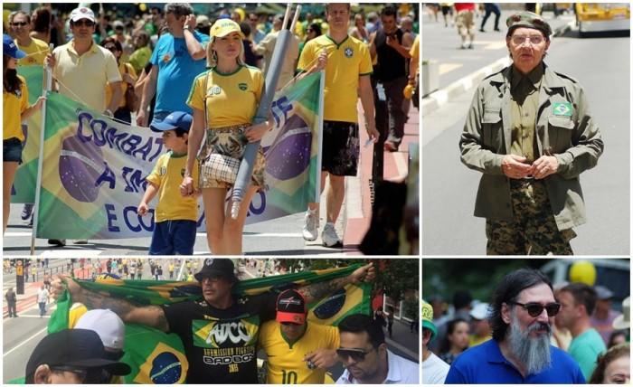 manifestações impeachment Dilma 13 domingo