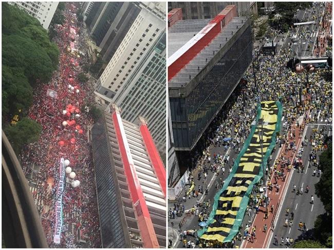 manifestações impeachment Dilma paulista