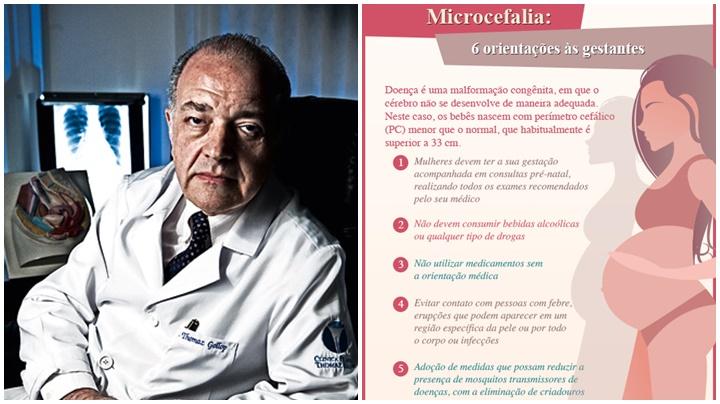 microcefalia zika vírus saúde gestante