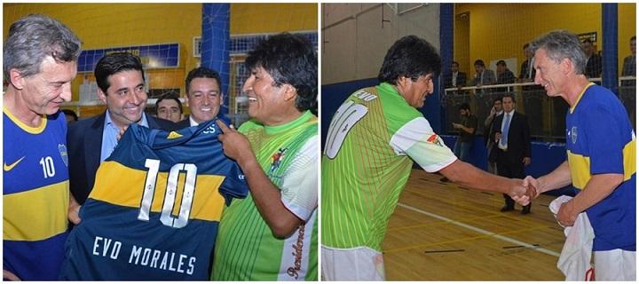 Evo Morales Maurício Macri Argentina