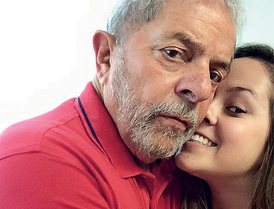 Bia Lula neta Globo
