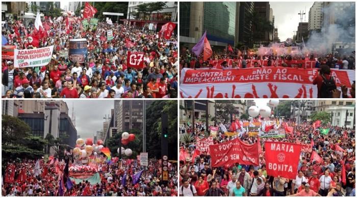 manifestação impeachment Dilma