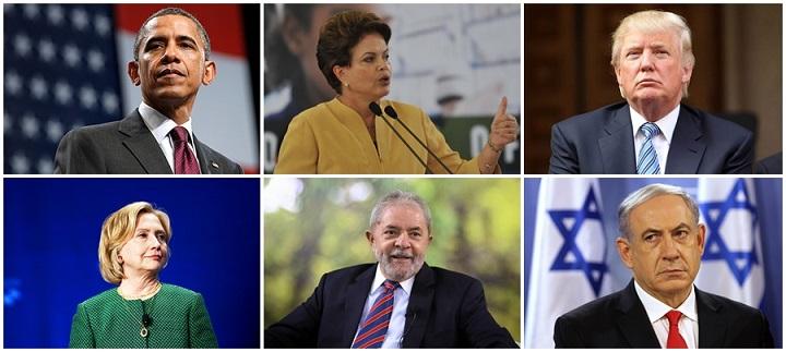 Facebook políticos citados