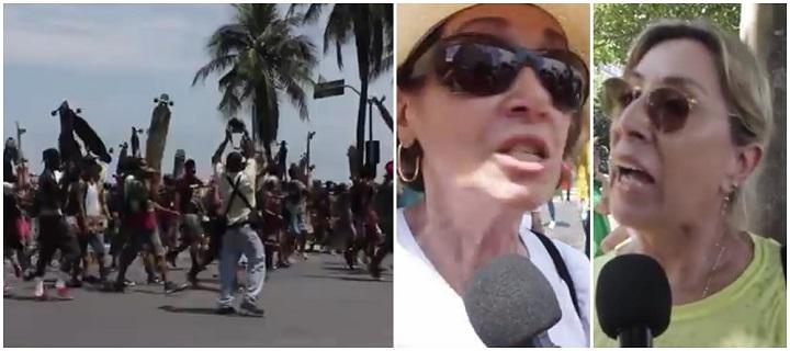 skatistas manifestação rio copacabana impeachment