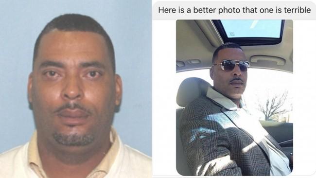 Fugitivo envia foto polícia