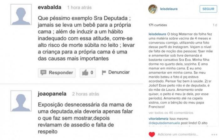 deputada Manuela D'Ávilla