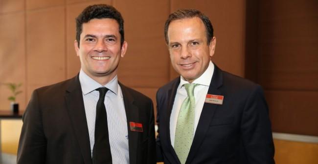 João Dória Lula Sérgio Moro