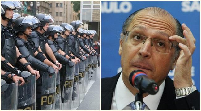 alckmin polícia militar gasto são paulo pm