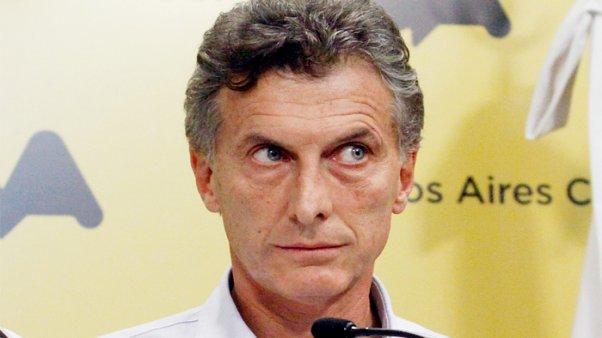 Maurício Macri conta luz Argentina