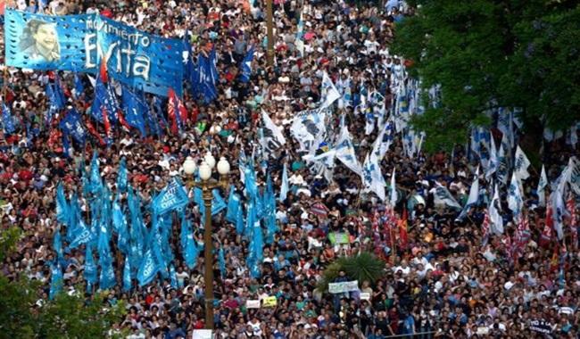 protesto macri argentina buenos aires
