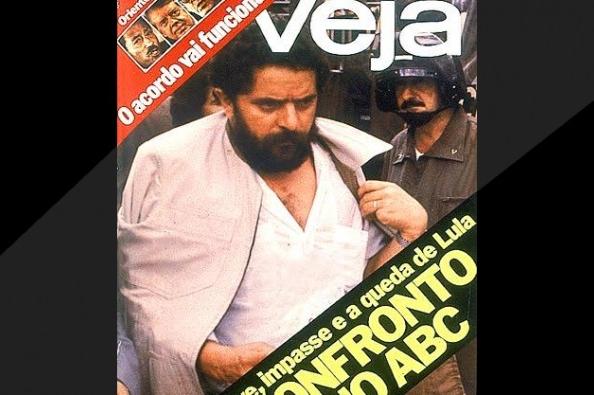 Queda Lula revista Veja