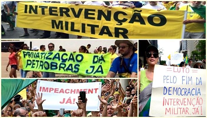 retrocesso impeachment privatização militarismo