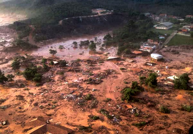 meio ambiente Tragédia em Mariana maior com barragens