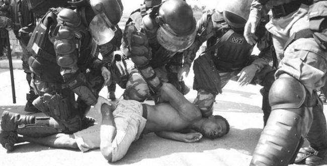Violência como remédio polícia desigualdade social injustiça