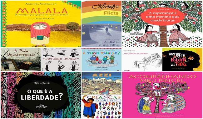13 livros crianças direitos humanos