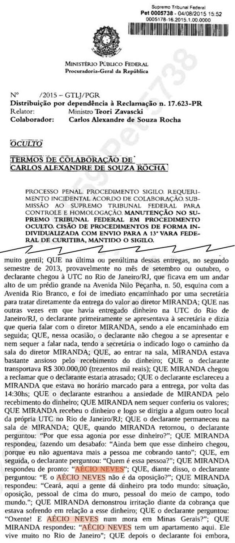 delação lava jato suspensão corrupção sérgio moro