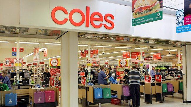 Coles supermercado austrália mulher