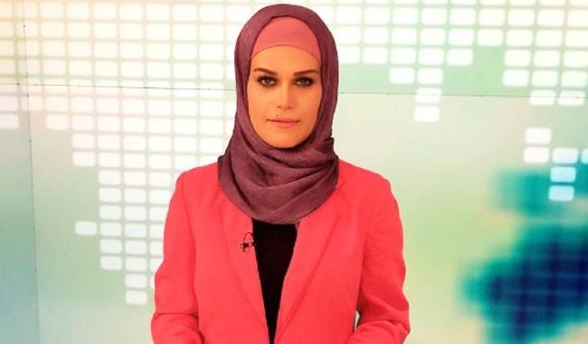 mulher apresentadora iraniana denuncia assédio