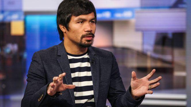 Pugilista Pacquiao gays piores que animais