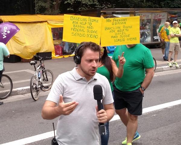 Brazilian People ASK HELP to Brasil and Federal Judge Sergio Moro