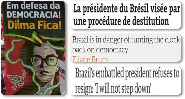 repercussão mídia internacional dilma golpe impeachment