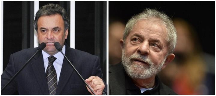 Aécio Lava Jato Lula