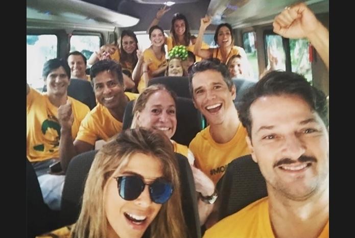 celebridades protesto dilma globo susana vieira