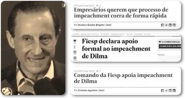fiesp empresários golpe dilma regime militar ditadura